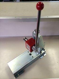 画像1: 新型ハンドプレスHP500KG(替刃なし、ホルダー付)
